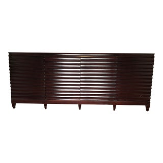 Barbara Barry For Baker Furniture Fluted Credenza For Sale