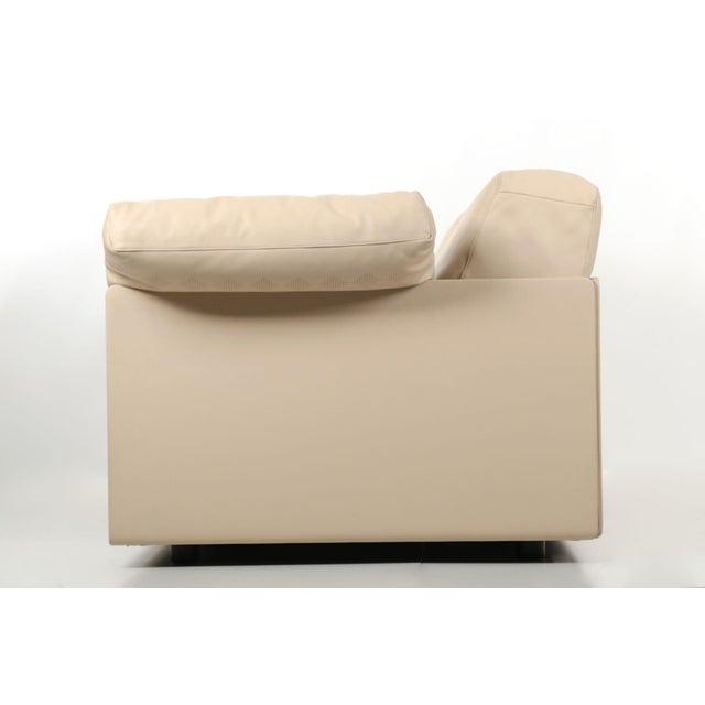 "Lievore Altherr Molina for Poltrona Frau ""Cassiopea"" Leather Sofa For Sale - Image 6 of 11"
