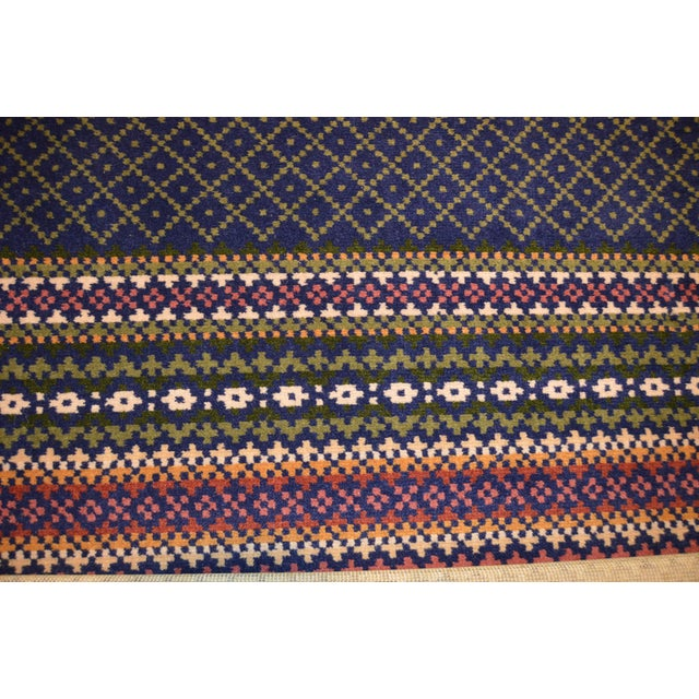 Contemporary Late 20th Century Vintage Laura Ashley Rug - 4′ × 6′ For Sale - Image 3 of 4