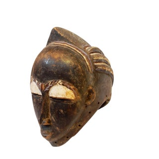 Baule LG Tribe Portrait Helmet Mask Côte d'Ivoire For Sale