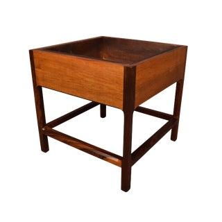 1960s Scandinavian Modern Rosewood Planter For Sale