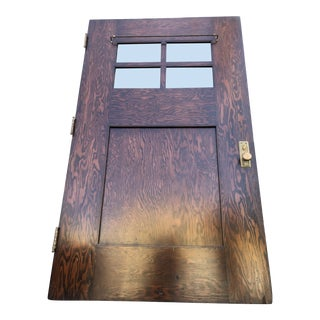 "Oversized 48"" Craftsman Arts and Crafts Front Door For Sale"