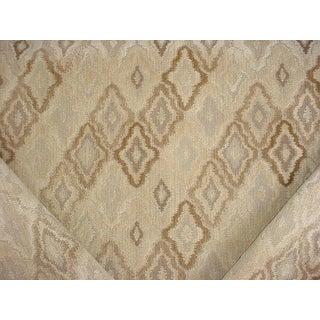 Moroccan Brunschwig Et Fils Br-89671 Soumak Grain Linen Ikat Velvet Upholstery Fabric - 10y For Sale