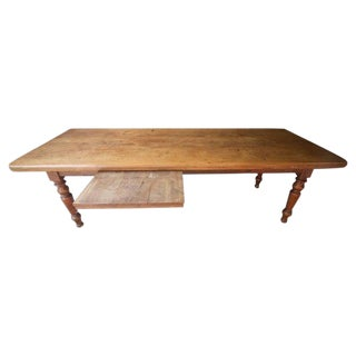Early 19th Century Antique French Farm Table For Sale