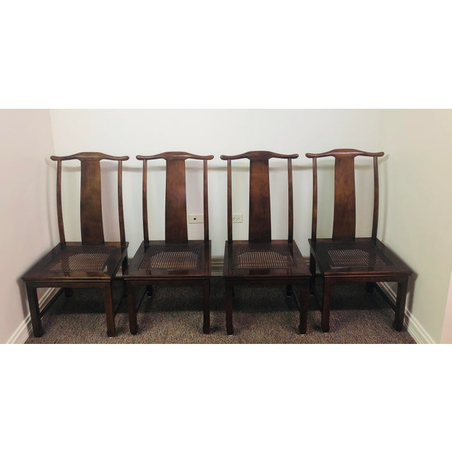 Henredon Vintage Henredon Mahogany Dining Set - 6 Pieces For Sale - Image 4 of 10