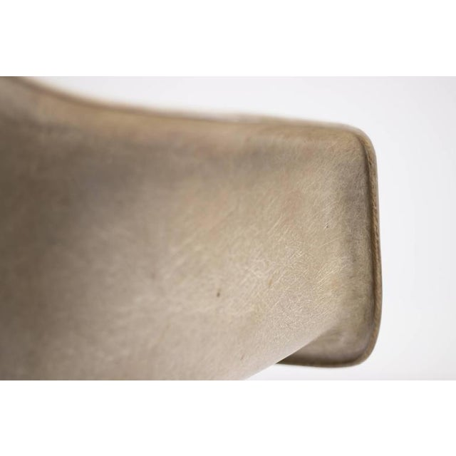 Charles Eames Charles Eames PAW Rope Edge Dowel Leg Swivel Chair For Sale - Image 4 of 7
