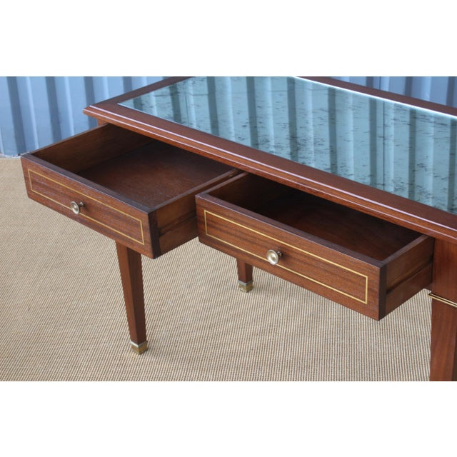 Mahogany Jeweler's Desk, France, 1950s For Sale - Image 10 of 12