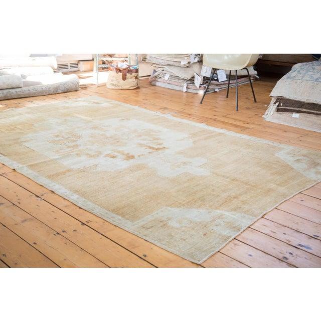 "Distressed Oushak Carpet - 5'10"" X 9'1"" - Image 7 of 10"