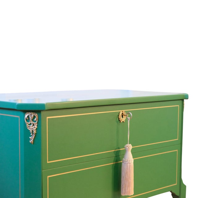 Traditional 1940s Gustavian Louis XV Style Chests - a Pair For Sale - Image 3 of 6