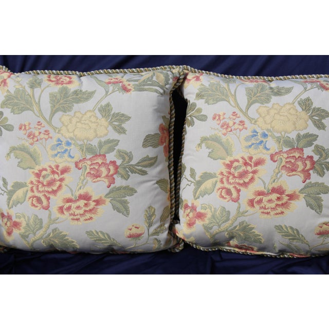 Pr. Of Possible Italian Scalamandre Down Filled Pillows For Sale In San Diego - Image 6 of 13