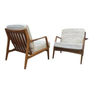 Ib Kofod Larsen Lounge Chairs - A Pair