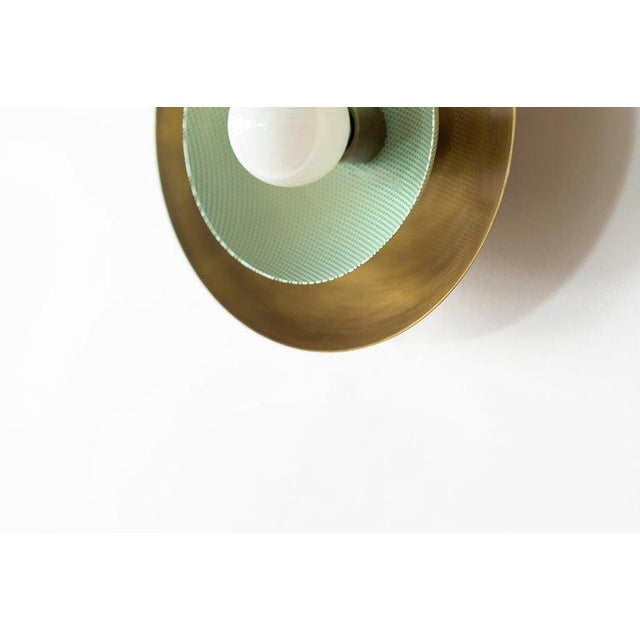 """""""Centric"""" Wall Sconces - a Pair For Sale In New York - Image 6 of 12"""