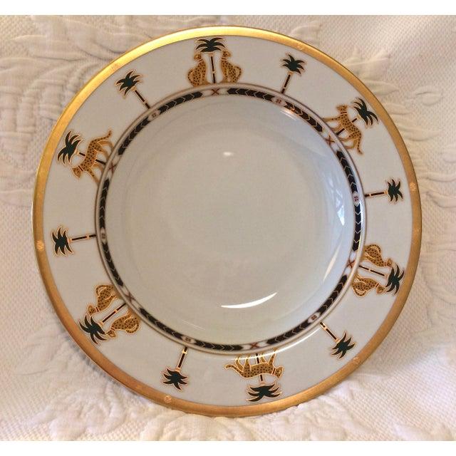 "Christian Dior Hollywood Glamour ""Casablanca"" Fine China Bowls - Set of 6 - Image 3 of 10"