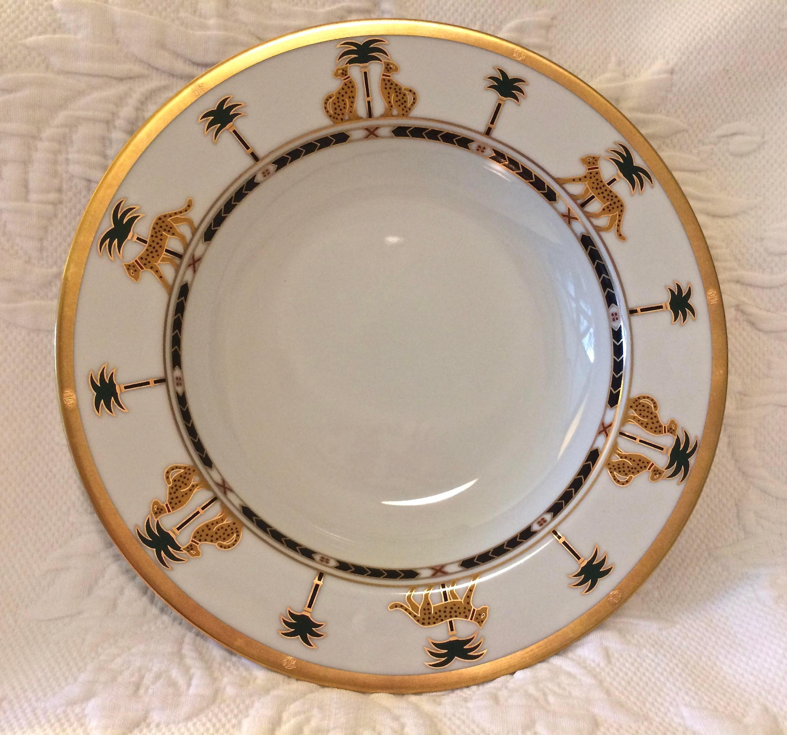 Christian Dior Hollywood Glamour  Casablanca  Fine China Bowls - Set of 6 - Image & Christian Dior Hollywood Glamour