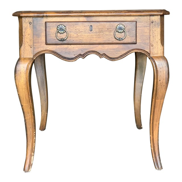 1960s Traditional Hekman Side Table For Sale