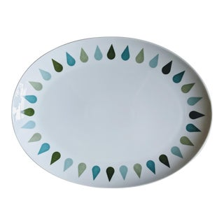 Mid-Century Modern Thomas & Co. Fine China Platter For Sale