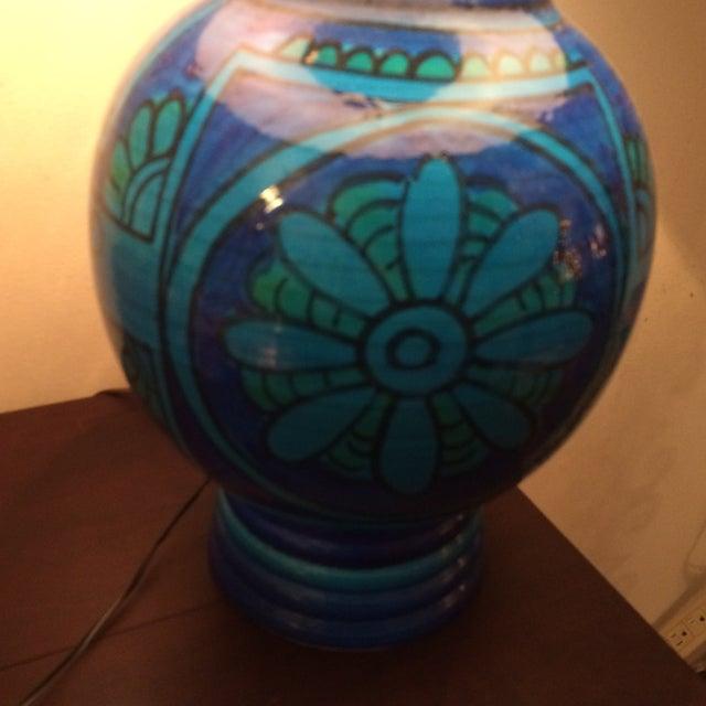 Mid-Century Bitossi Lamp - Image 3 of 4