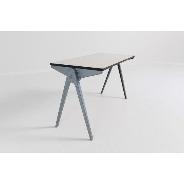 Industrial Writing Desk Table With Chairs for Kids by James Leonard for Esavian For Sale - Image 10 of 13