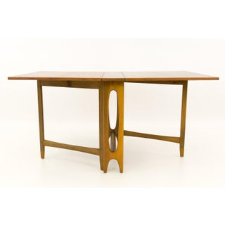 Mid Century Modern Teak Drop Side Leaf Expanding Dining Table Preview