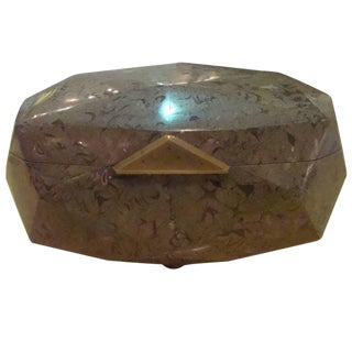 Maitland Smith Stone Box For Sale