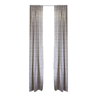 """Pepper Ginger Blackout 50"""" x 108"""" Curtains - 2 Panels For Sale"""