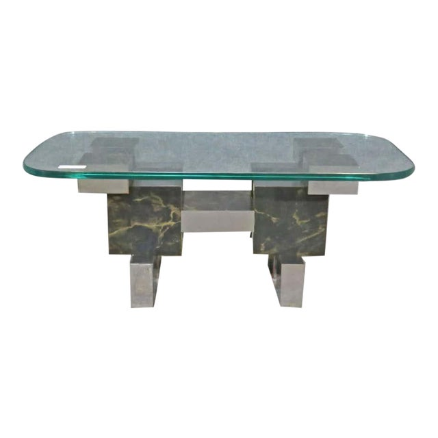 Paul Evans Style Coffee Table For Sale
