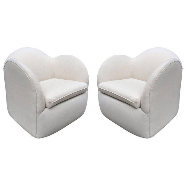 1930s Pair of Art Deco Swivel Chairs For Sale - Image 5 of 5