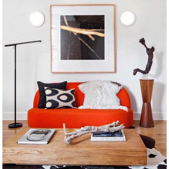 Pierre Paulin Orange Loveseat For Sale - Image 9 of 10