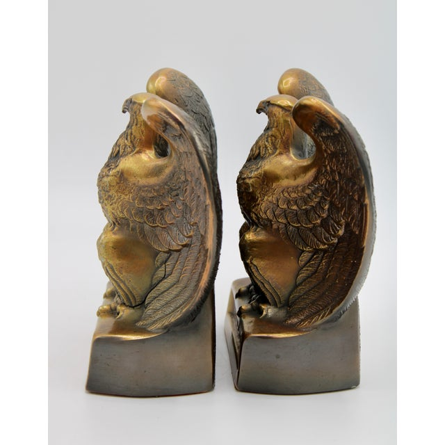 "Vintage ""1776"" American Federal Eagle Bookends For Sale In Tulsa - Image 6 of 13"
