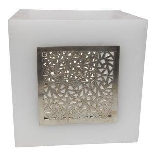 Large White Kasbah Tealight Holder For Sale