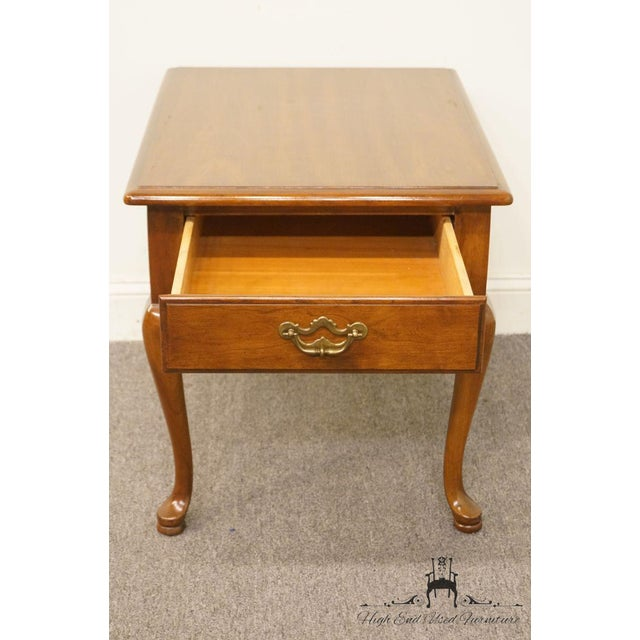 Thomasville Furniture Collectors Cherry Collection End Table For Sale In Kansas City - Image 6 of 13