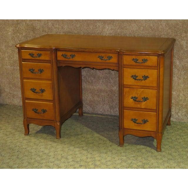 1970s French Provincial Sligh Partner Desk For Sale - Image 13 of 13