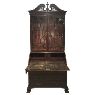 Chippendale Secretary or Desk, Circa 1790 For Sale