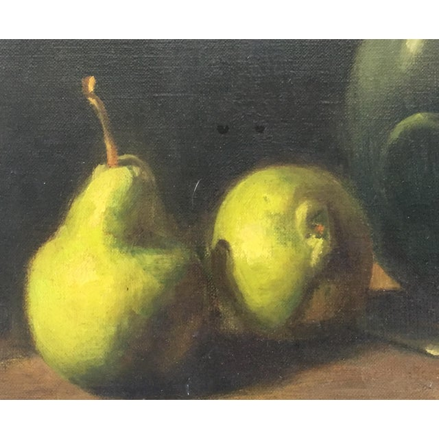 Classical Spanish Still Life Oil Painting on Canvas For Sale - Image 5 of 10