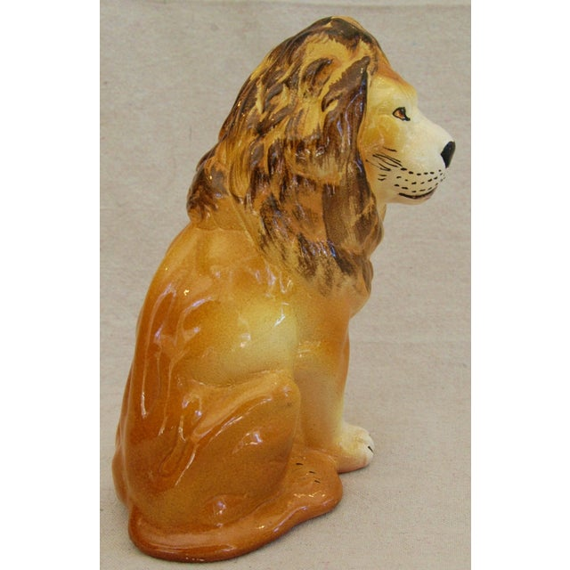 Mid-Century Italian Safari Lion - Image 7 of 8