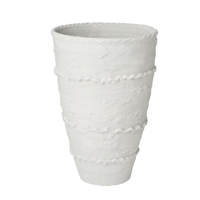Pompeii Tall Gray Vase For Sale