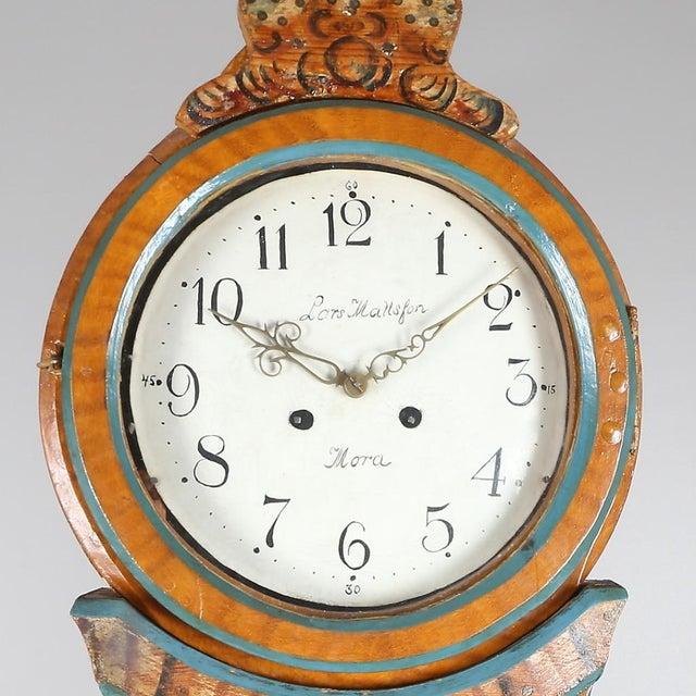 Antique Swedish Mora Clock - Image 3 of 4
