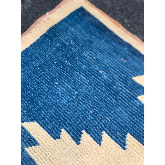 Blue 1950's Vintage Persian Gabbeh Tribal Rug- 3′1″ × 5′9″ For Sale - Image 8 of 11