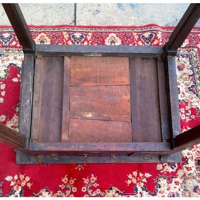 This little table has seen a lot in its lifetime, you just wonder who has pulled up a chair to it for writing, drinking...
