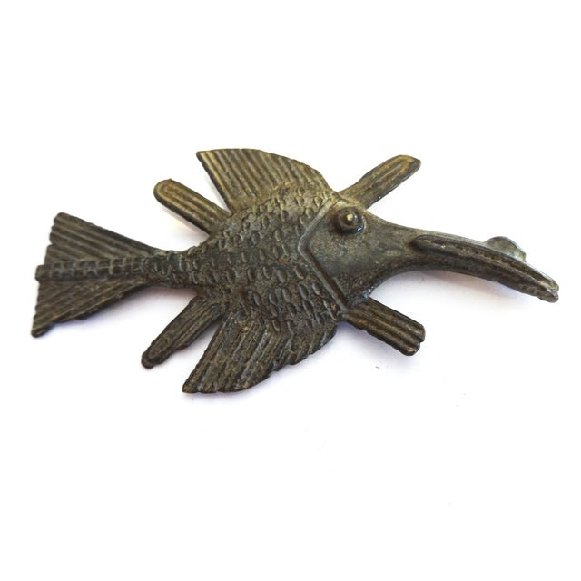 Akan Bronze Gold Weight Figure of a Fish - Image 4 of 4