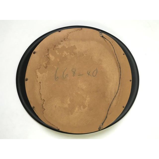 Modern Oval Framed Mirror - Image 6 of 7