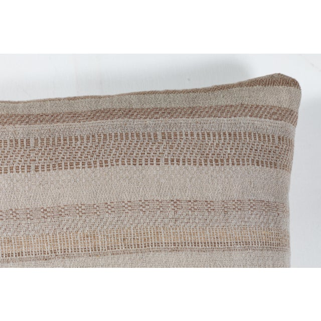 Contemporary Indian Handwoven Pillow For Sale - Image 3 of 6