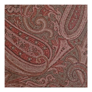 Clarence House Ajuga Paisley Designer Fabric by the Yard For Sale