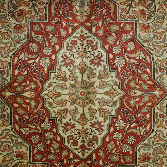"Vintage Kayseri Carpet - 6'7"" x 10'1"" - Image 3 of 6"