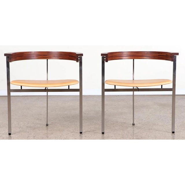 1970s Poul Kjaerholm Pk11 Side Chairs - a Pair For Sale - Image 10 of 10