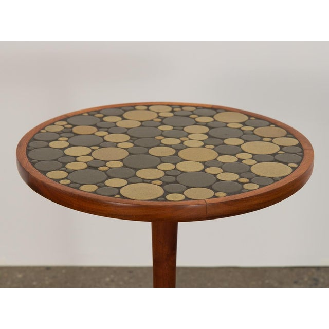 1960s Martz Coin Tile Side Table For Sale In New York - Image 6 of 11