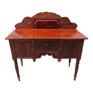 19th Century Barbados Regency Mahogany and Cedrela Cupping Table For Sale