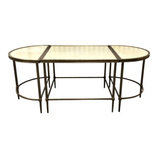 Century Furniture Three-Piece Cocktail Table For Sale