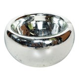 Image of Mid Century Modern Large Mercury Bowl in Silver, 1960s Mexico For Sale