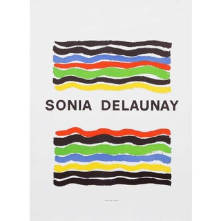 "1970s Vintage Sonia Delaunay ""Mourlot"" Poster For Sale"